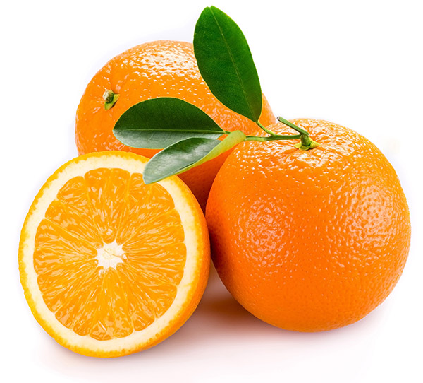 Two whole oranges and a half an orange