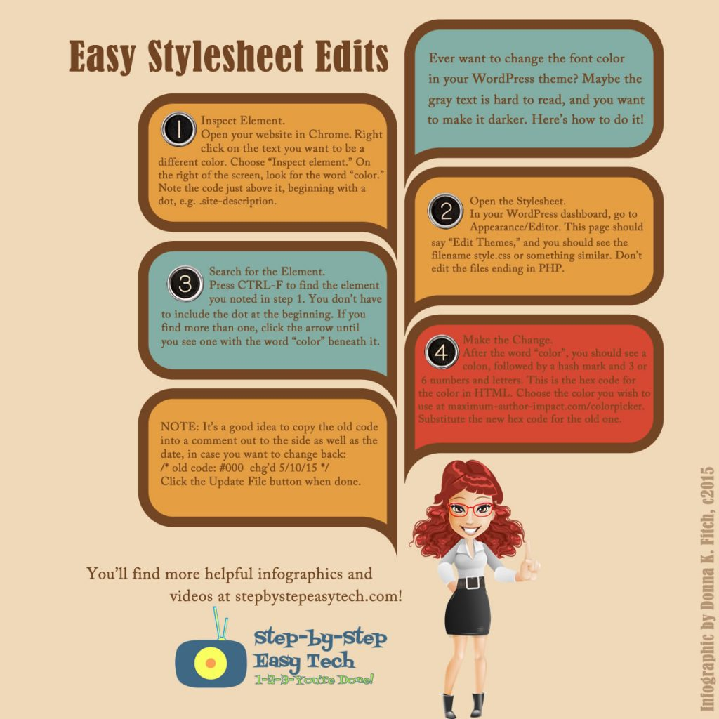 Easy Stylesheet Edits