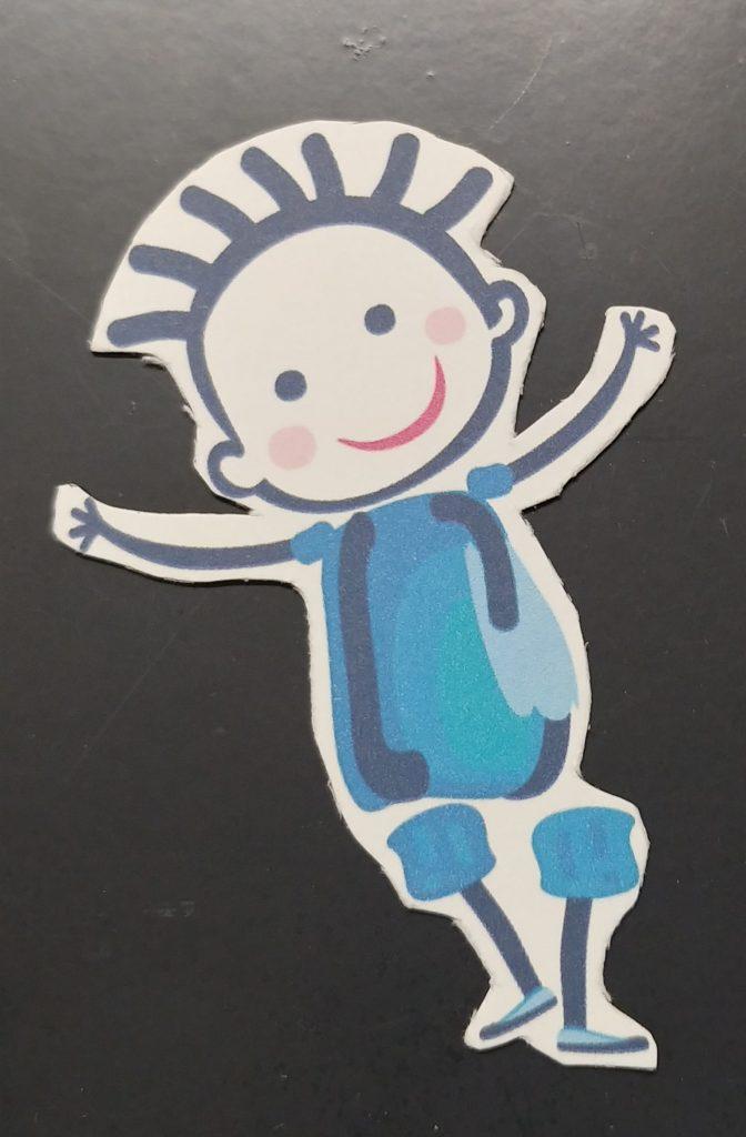 Cartoon Happy Child