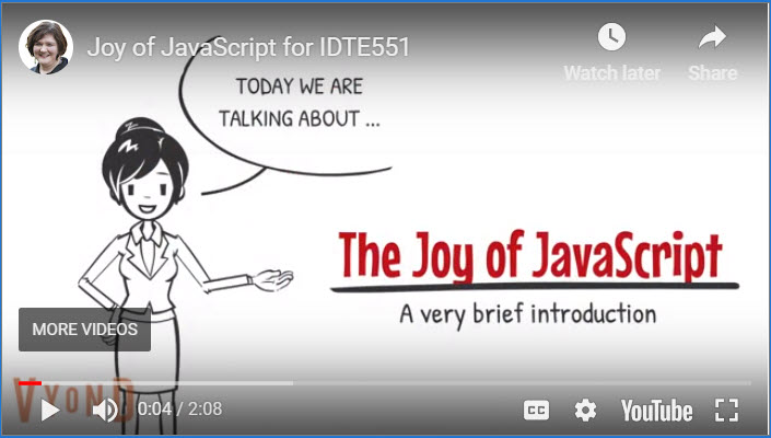 Joy of Javascript: A Conversion