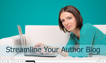 Streamline Your Author Blog