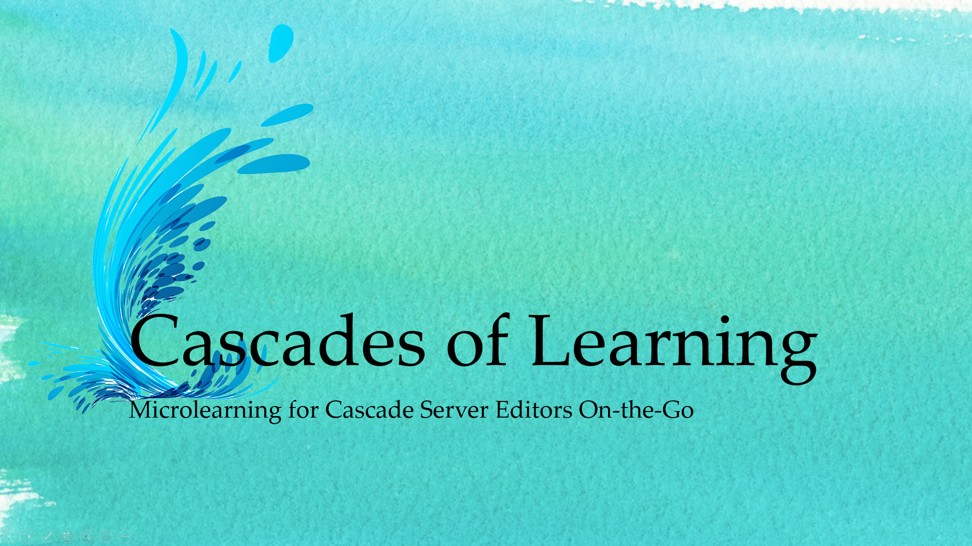 Cascades of Learning