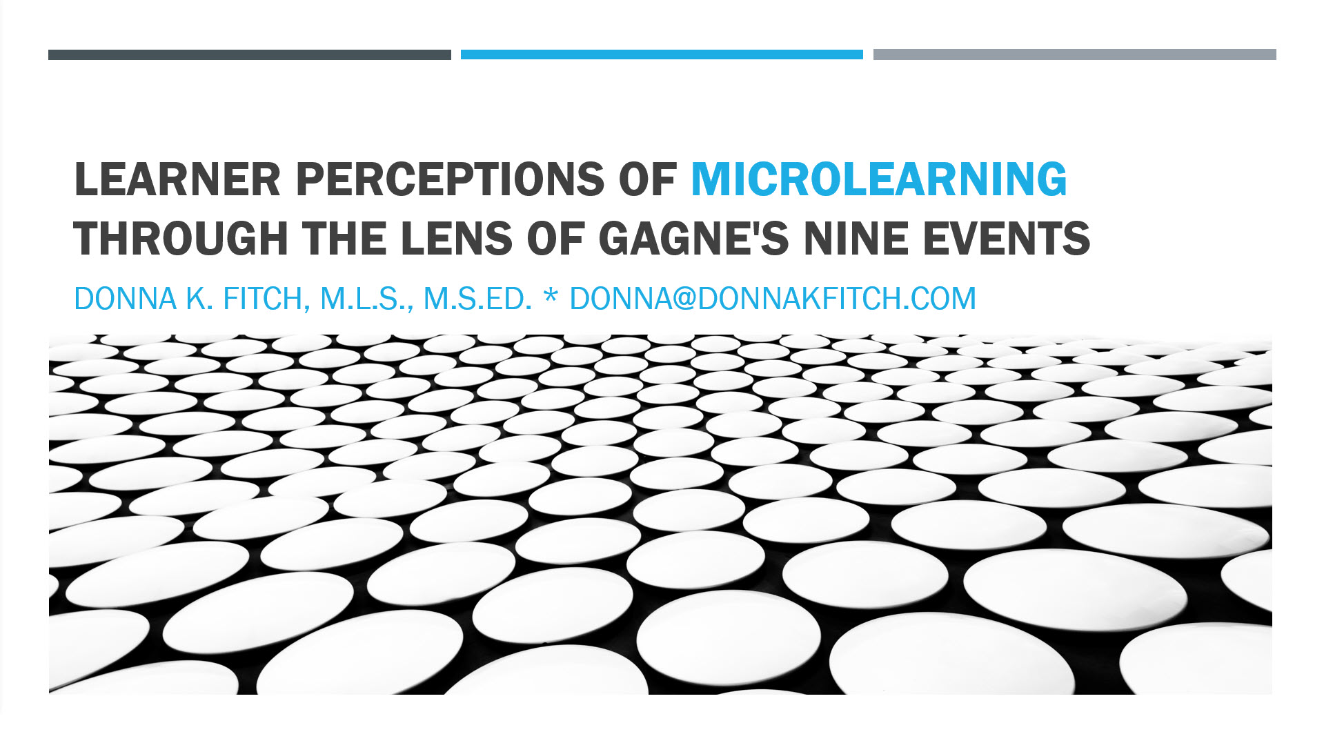Learner Perceptions of Microlearning